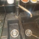 Plumber Stoke Bishop repaired double kitchen sink