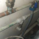 plumbing on wall and pipework by Plumber Stoke Bishop